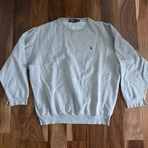Destroyed Ralph Lauren Polo Crew Neck sweatshirt